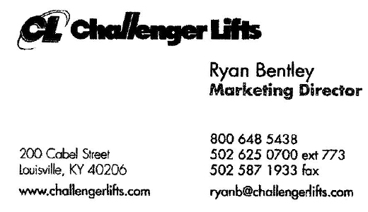 Challenger Marketing Director